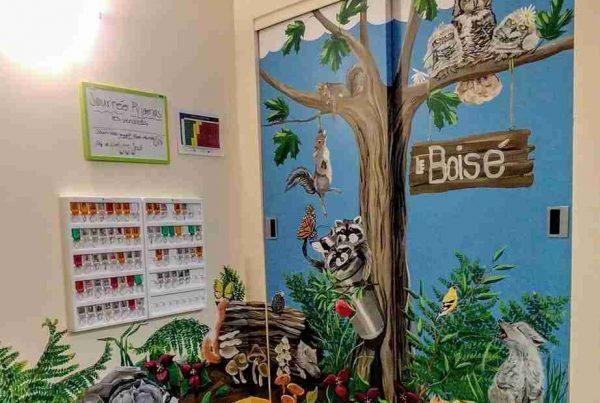 Murale Garderie Magimo