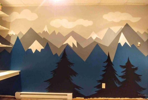 Murales montagnes