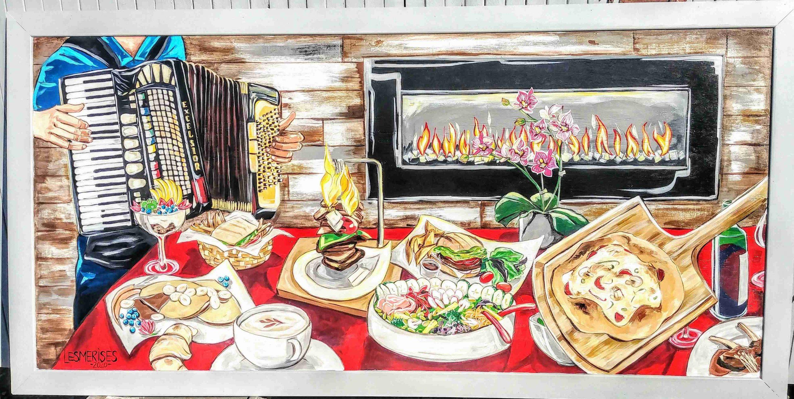 Murale restaurant
