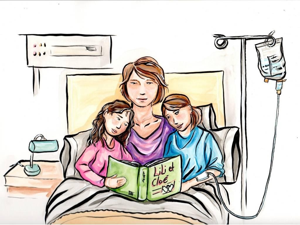 Illustrations une histoire à l'hôpital